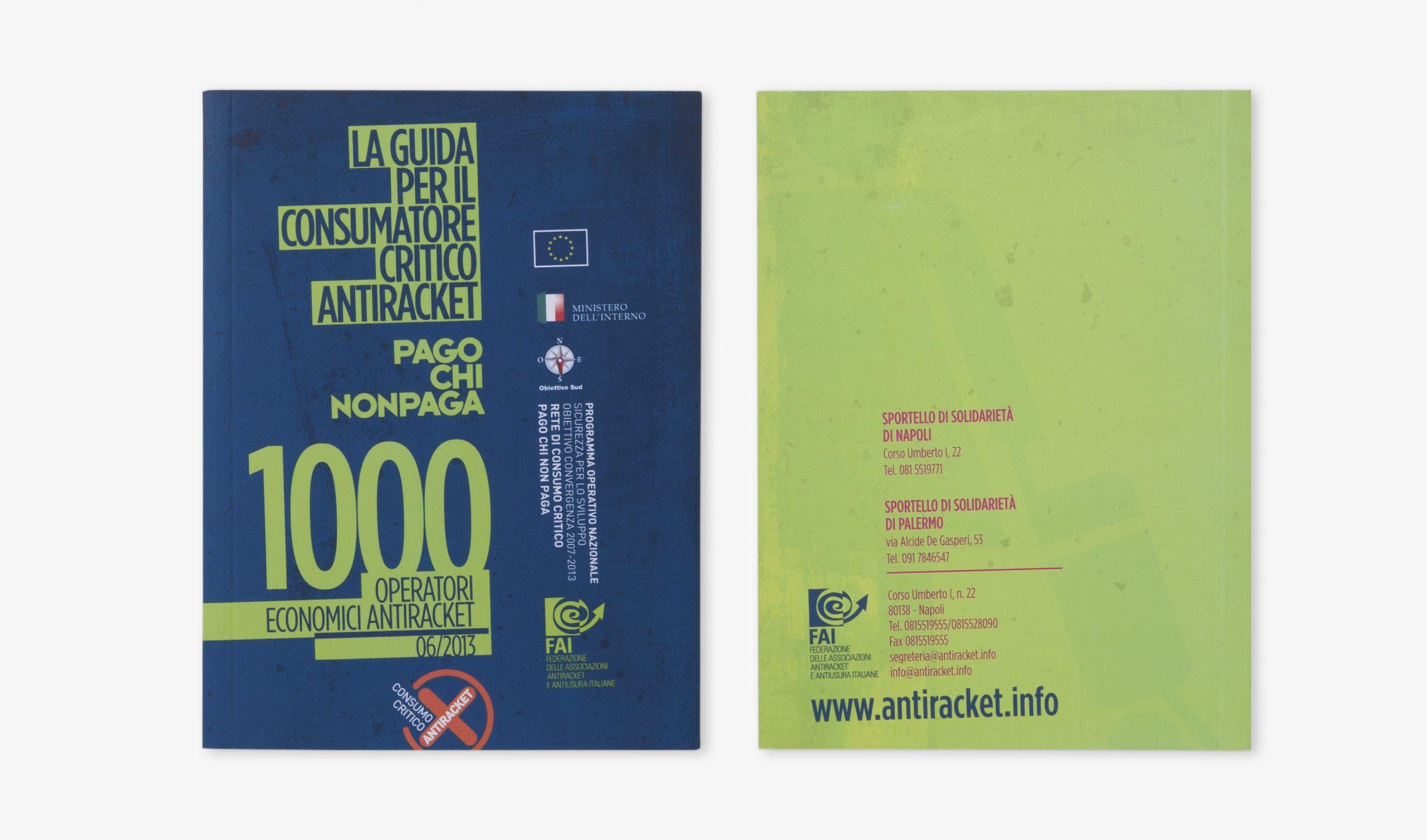 Guida Consumo Critico Antiracket FAI