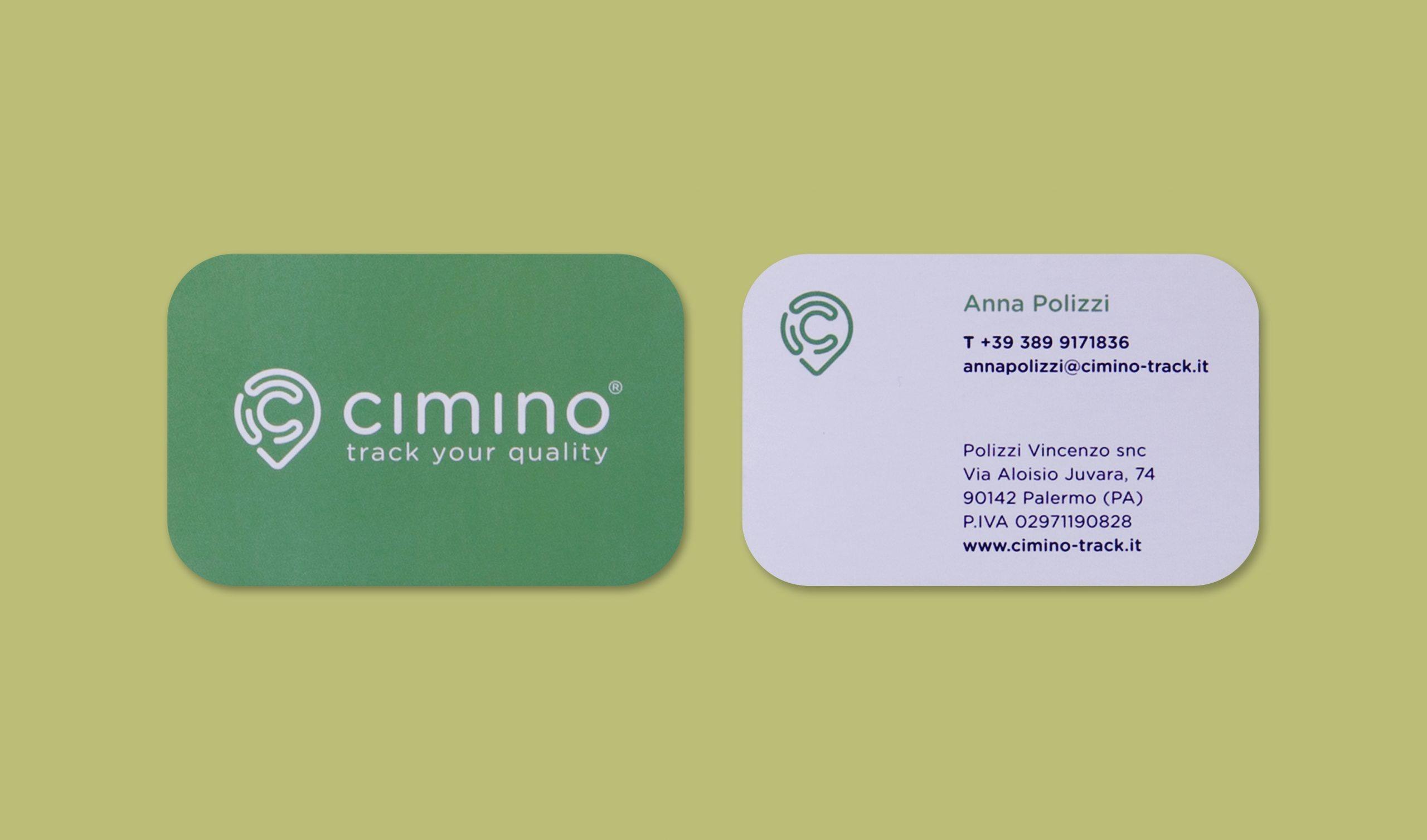 Cimino App - Biglietto da visita