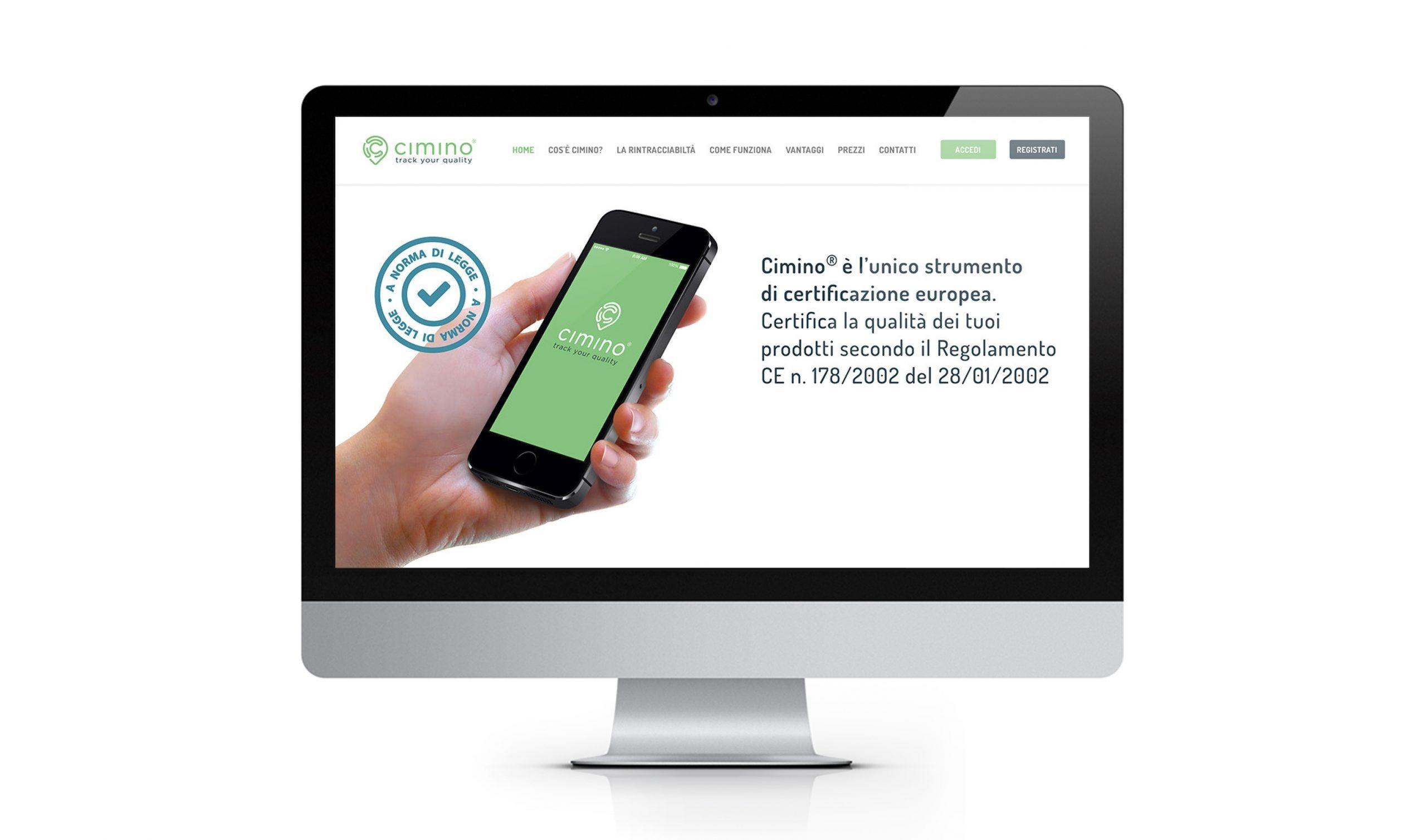 Interfaccia sito web