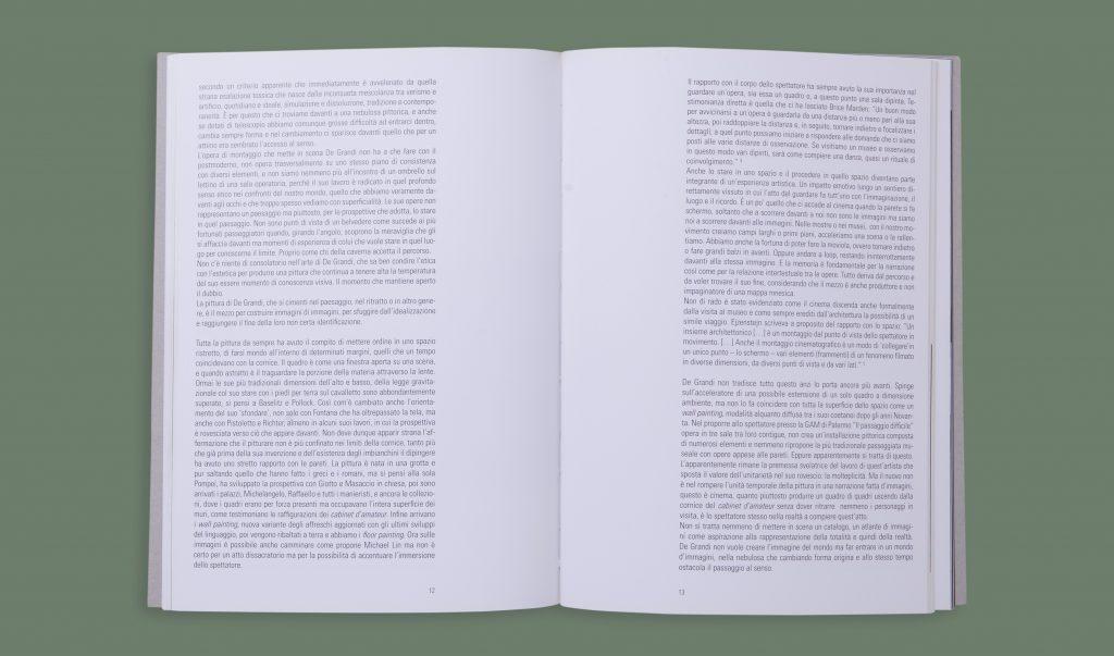 Il Passaggio Difficile Francesco De Grandi - Interno con testo
