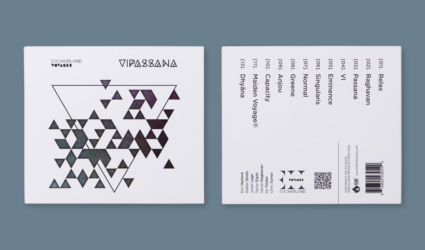 Vipassana - Cover fonte e retro