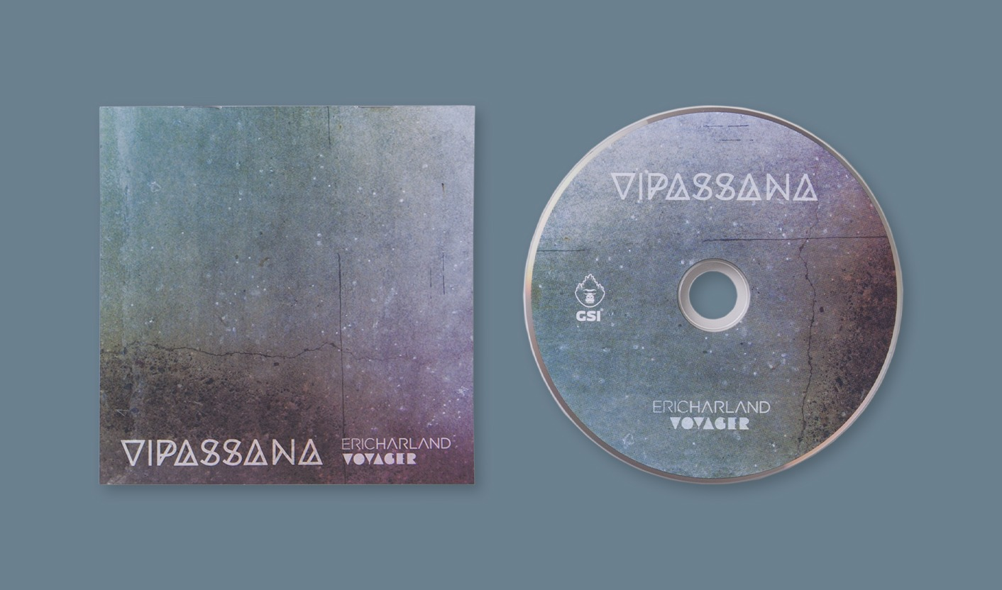 Vipassana - Booklet e disco