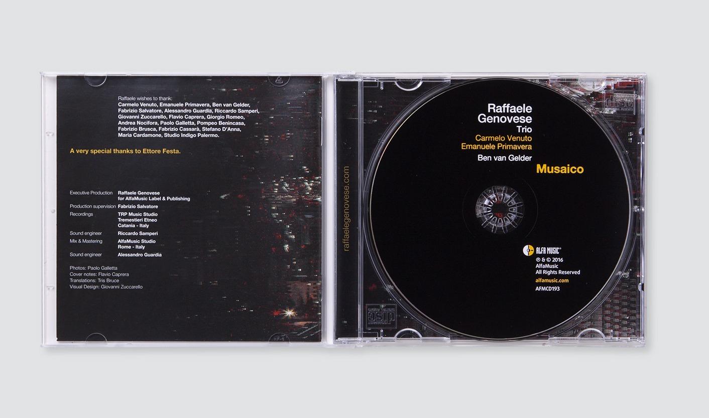 Musaico Raffaele Genovese Trio - Booklet e CD