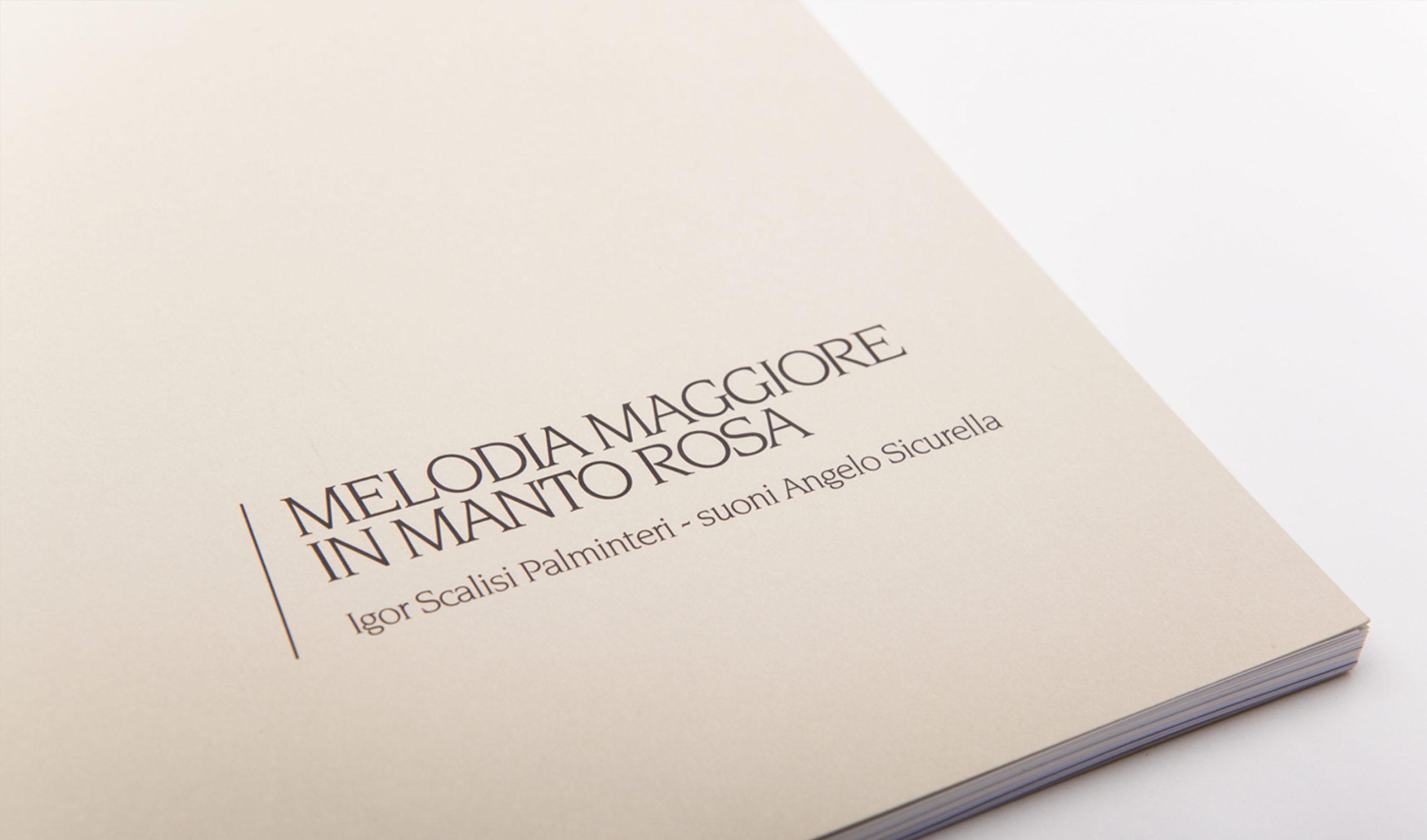 Melodia Maggiore in Manto Rosa - Copertina