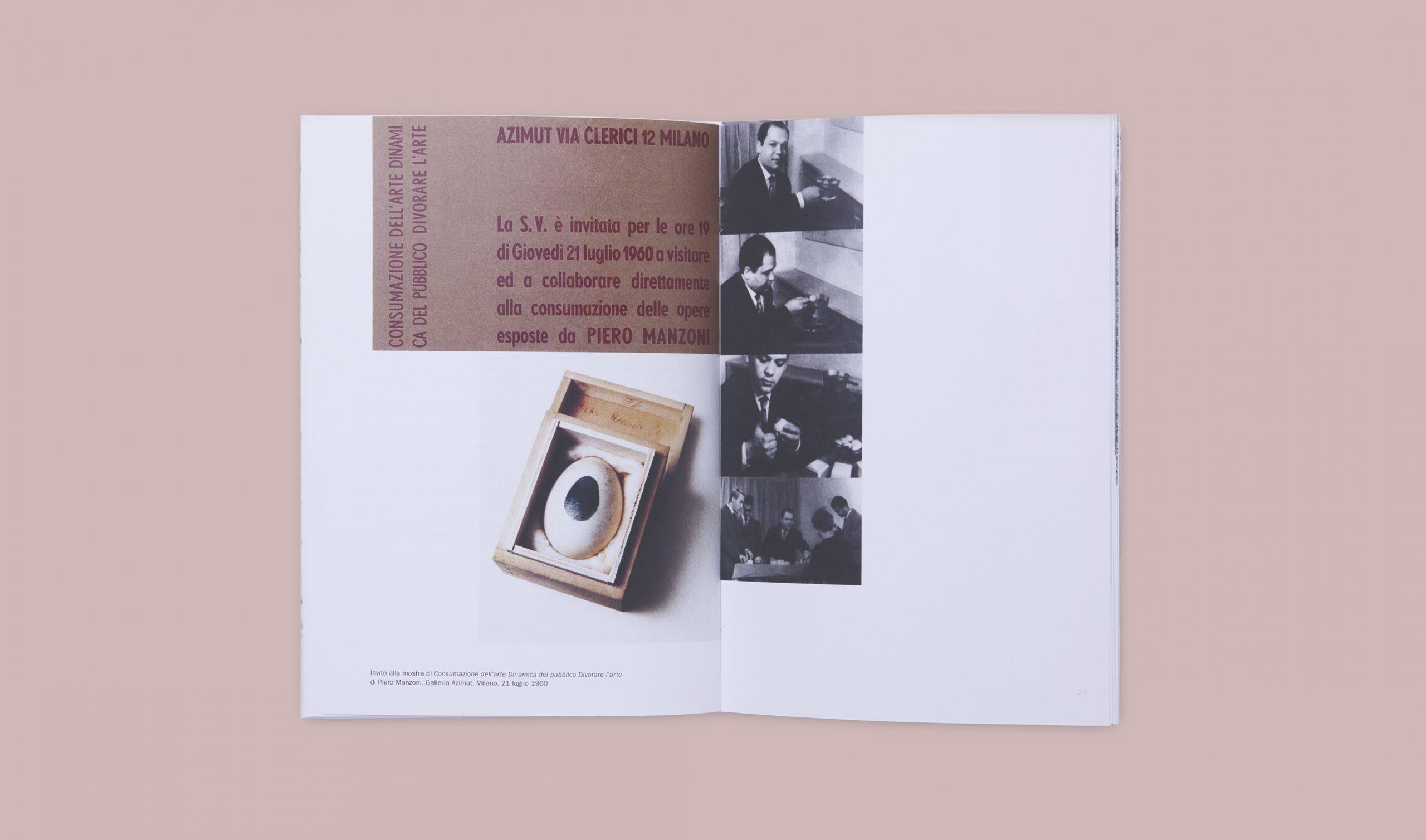 Piero Manzoni Monografia Achromes - Interno foto