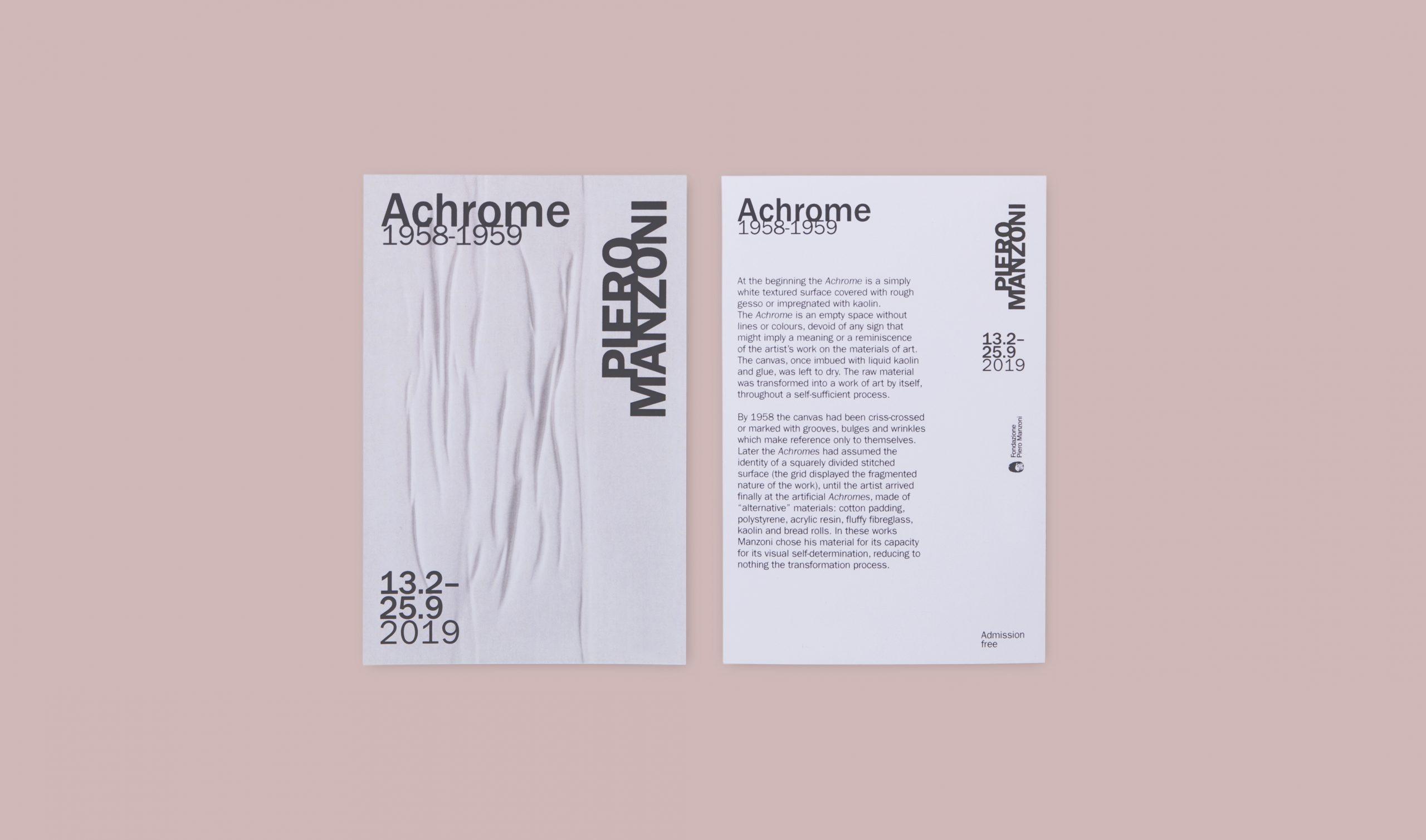 Cartolina Achromes