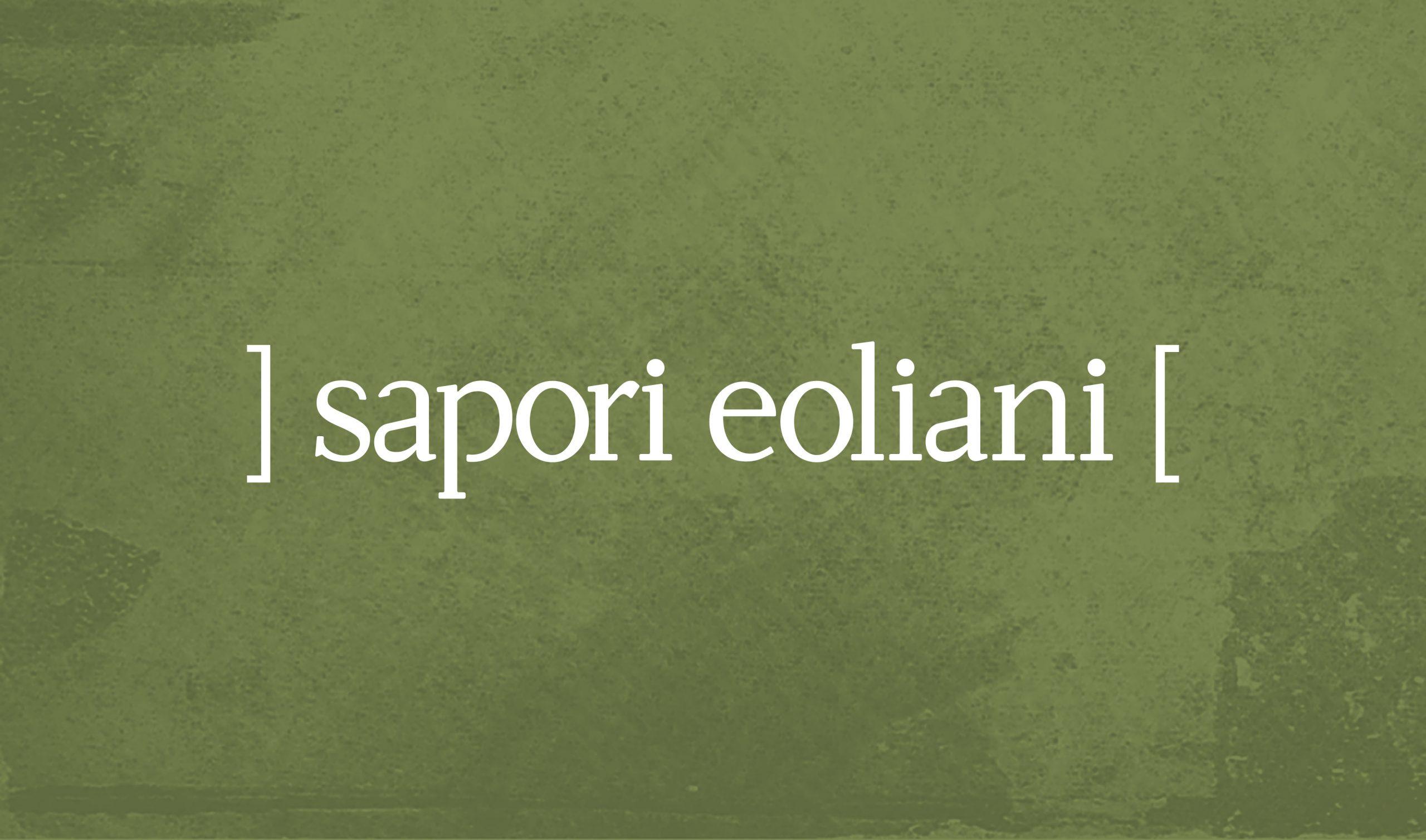 Sapori Eoliani identità visiva azienda di Salina - Logo
