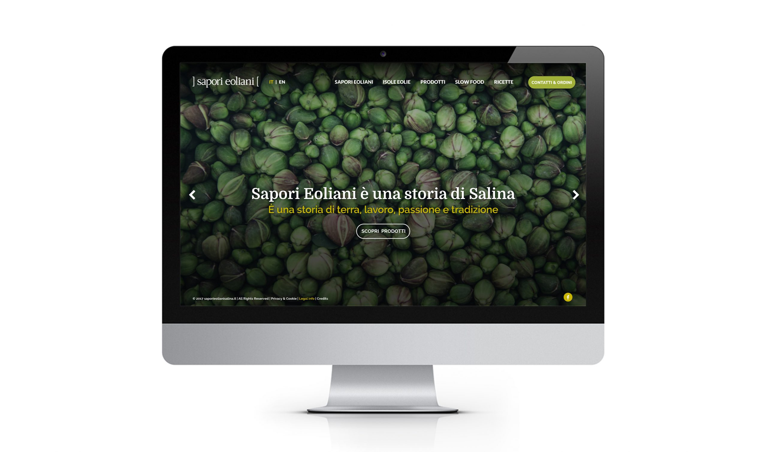 Sito Web - Homepage