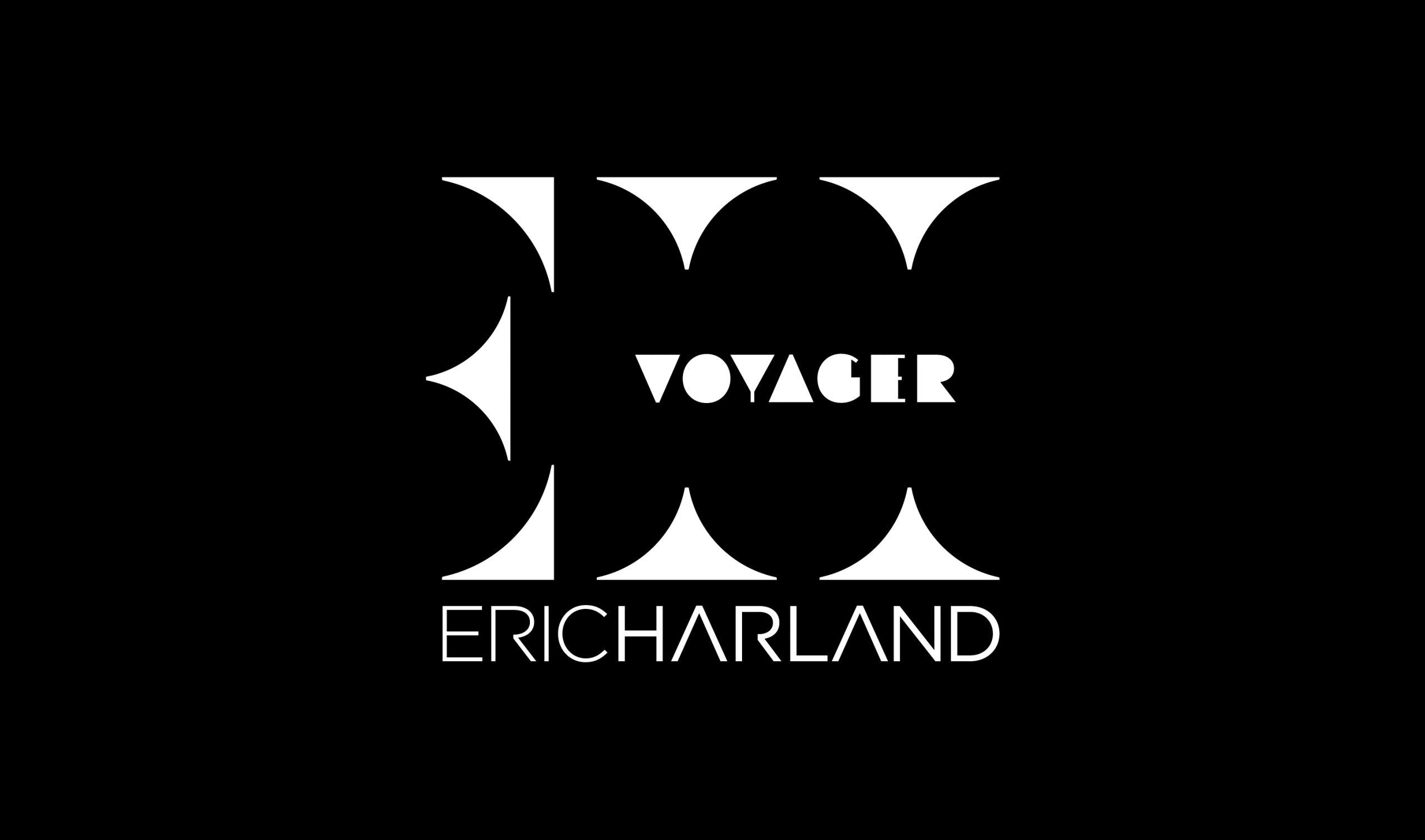 Eric Harland - Logo Bianco