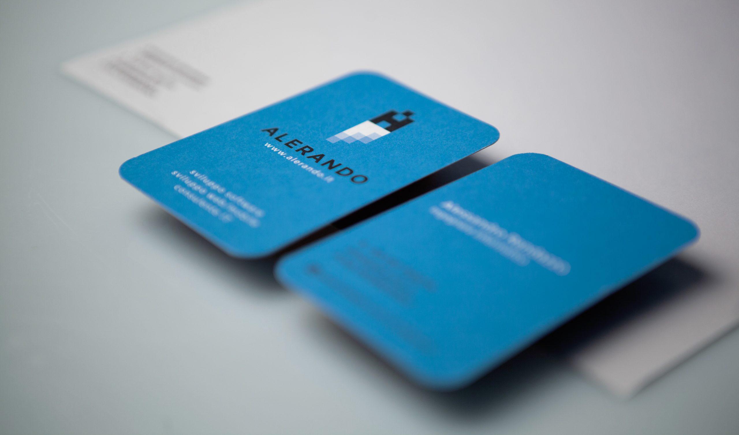 Dettaglio Business Card Alerando