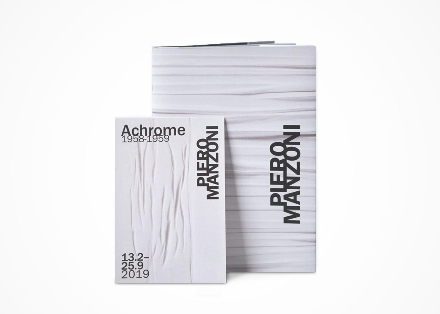 Piero Manzoni Monografia Achromes