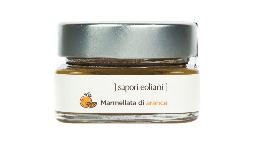 Sapori Eoliani identità visiva azienda di Salina - Marmellata arance