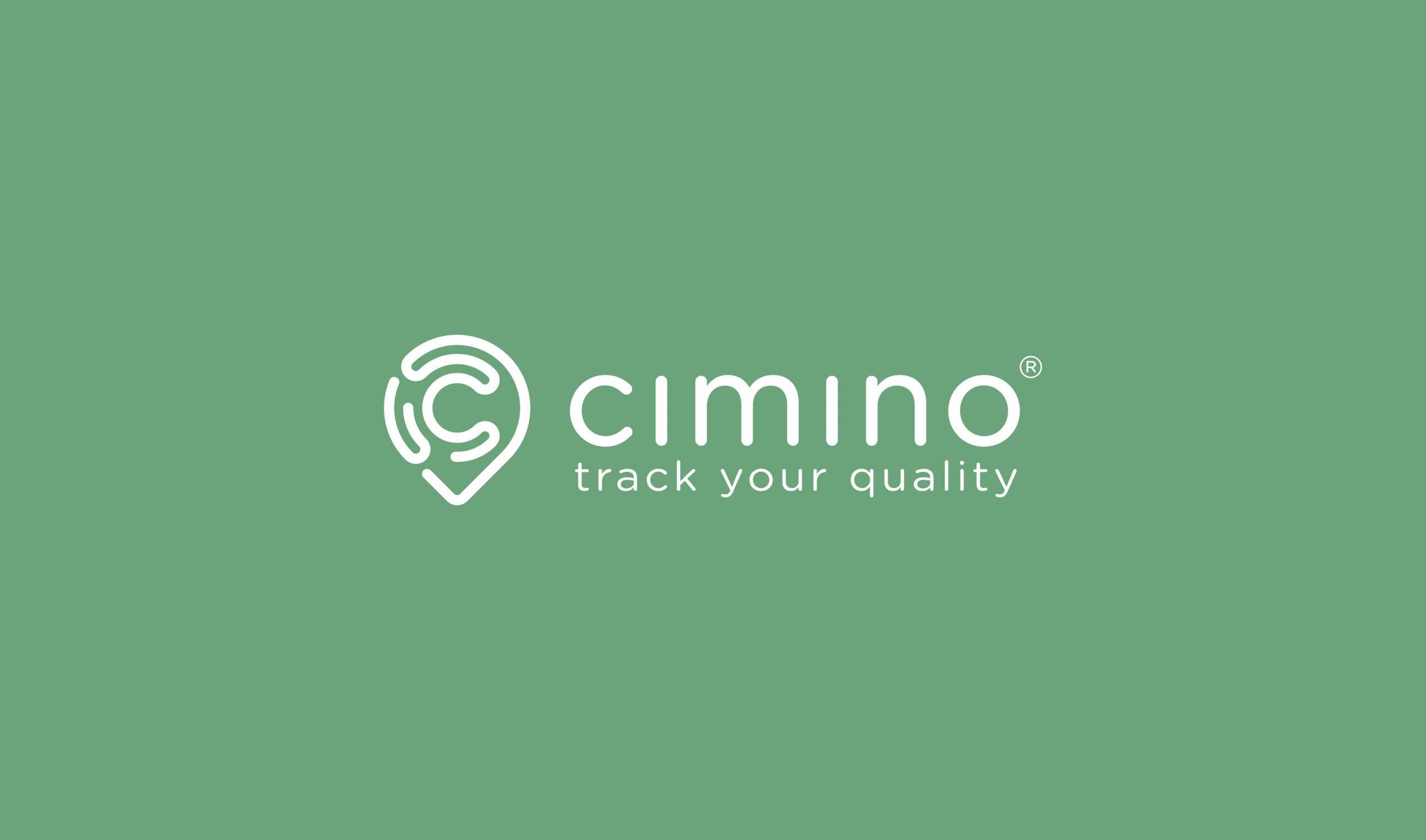 Cimino interfaccia app mobile - Logo su fondo colorato