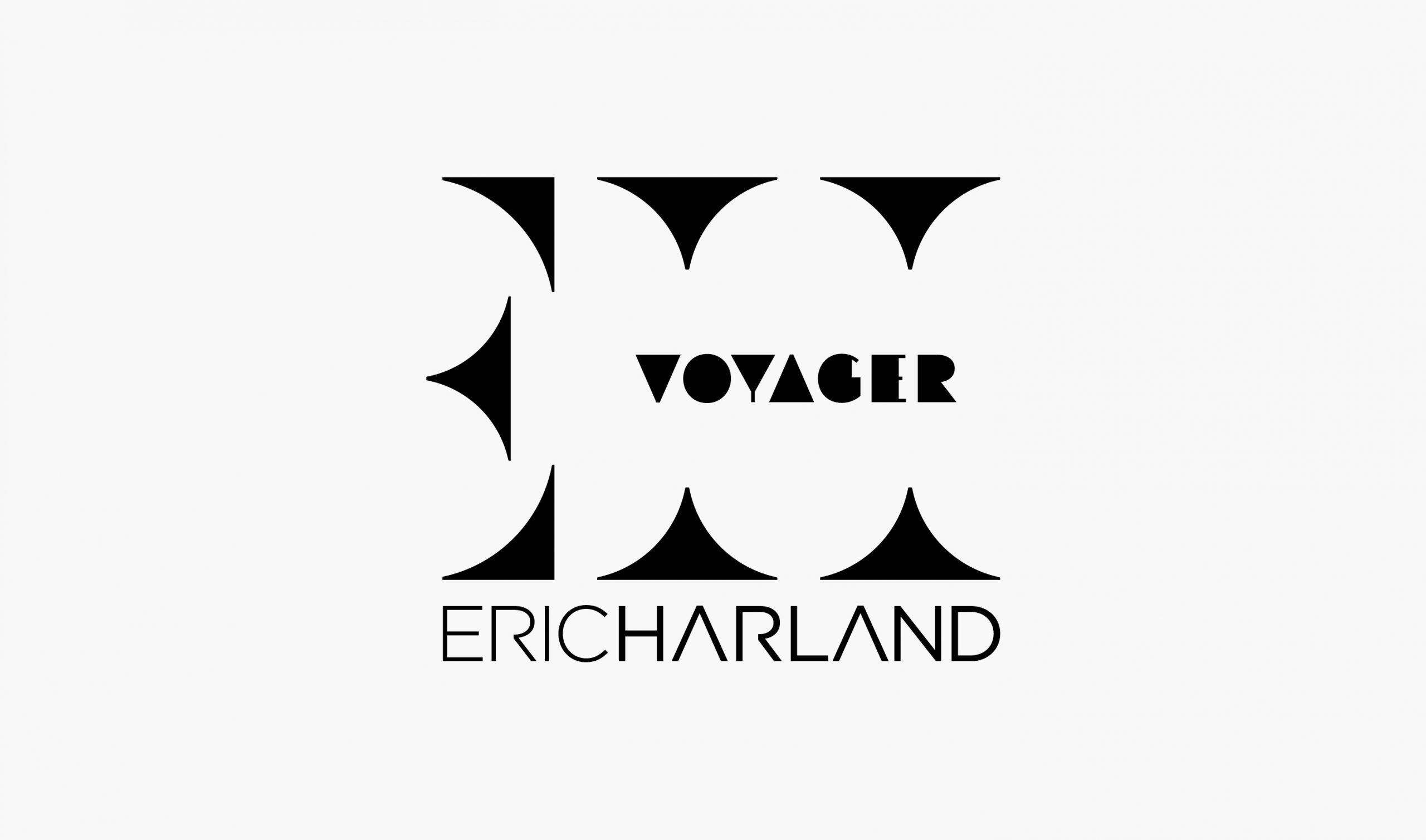 Eric Harland - Logo Nero
