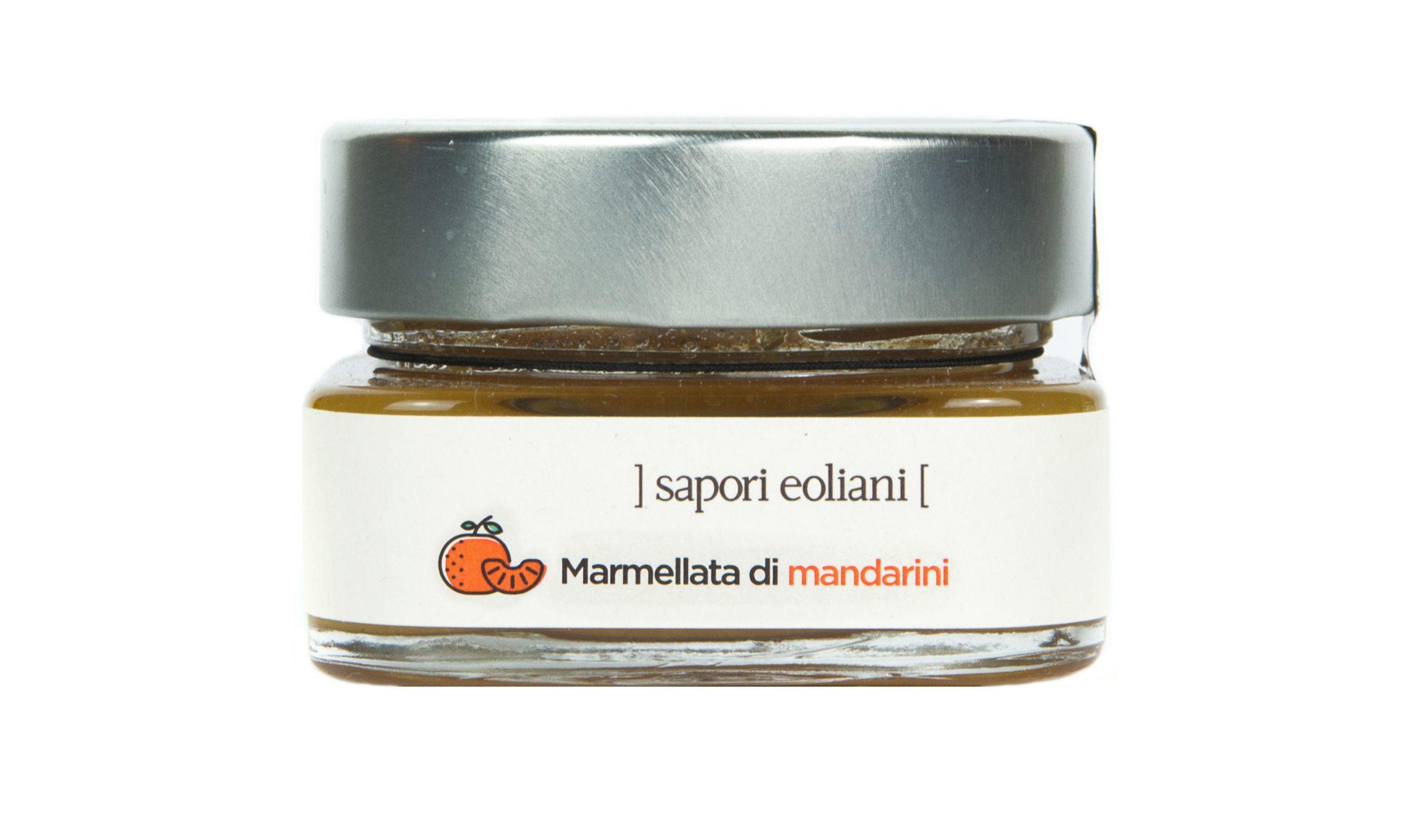 Sapori Eoliani identità visiva azienda di Salina - Marmellata mandarini