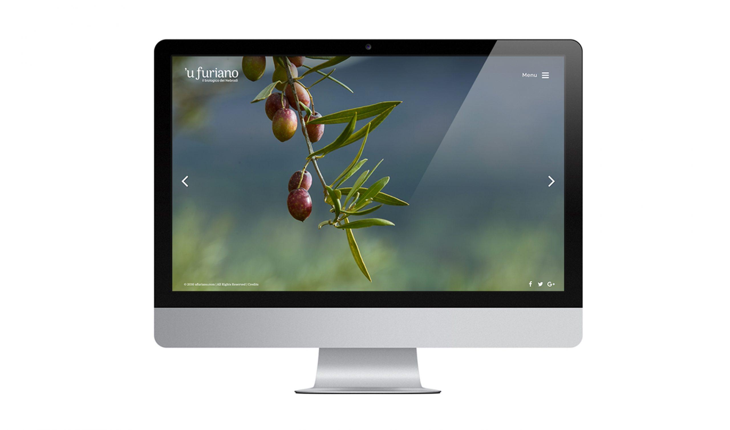 Olio 'u Furiano Website Home