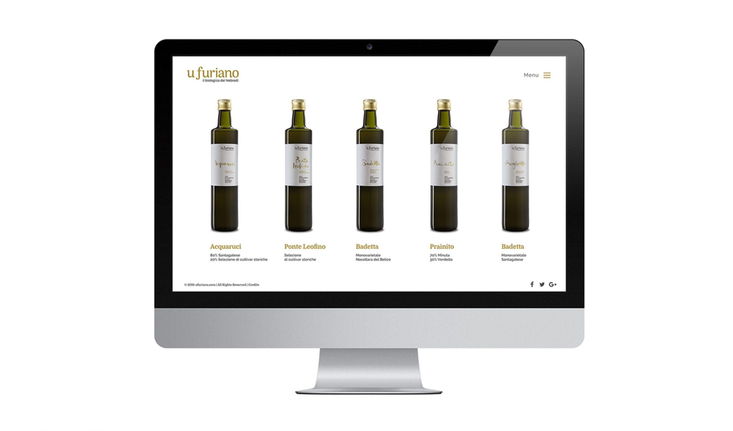 Olio 'u Furiano Website Prodotti