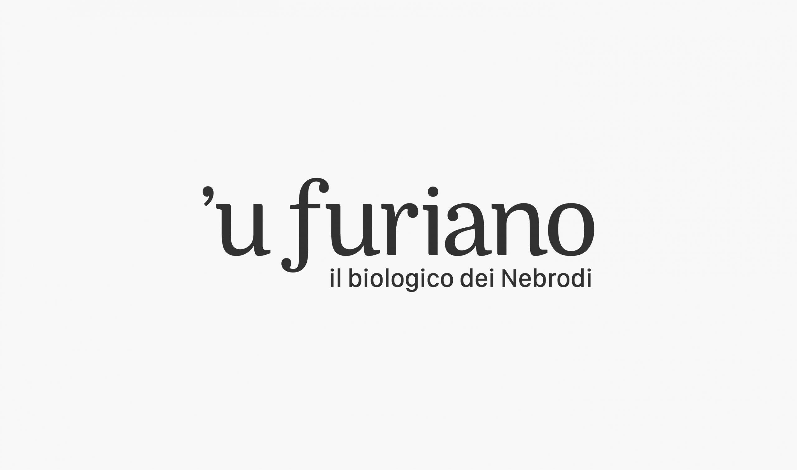 Olio 'u Furiano Packaging e identità visiva - Logo Nero
