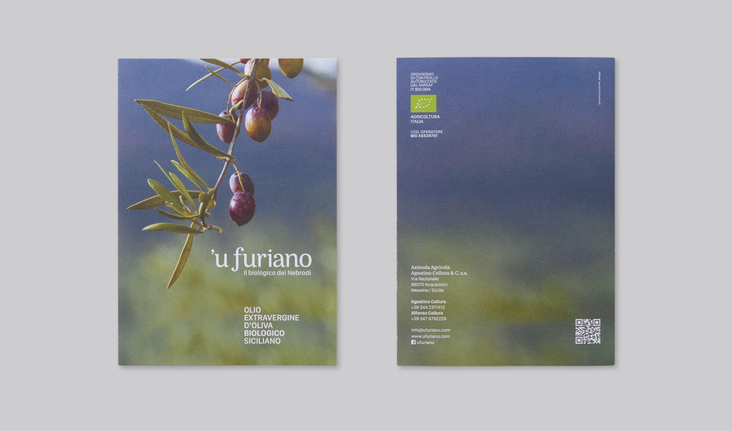Olio 'u Furiano Packaging - Pieghevole