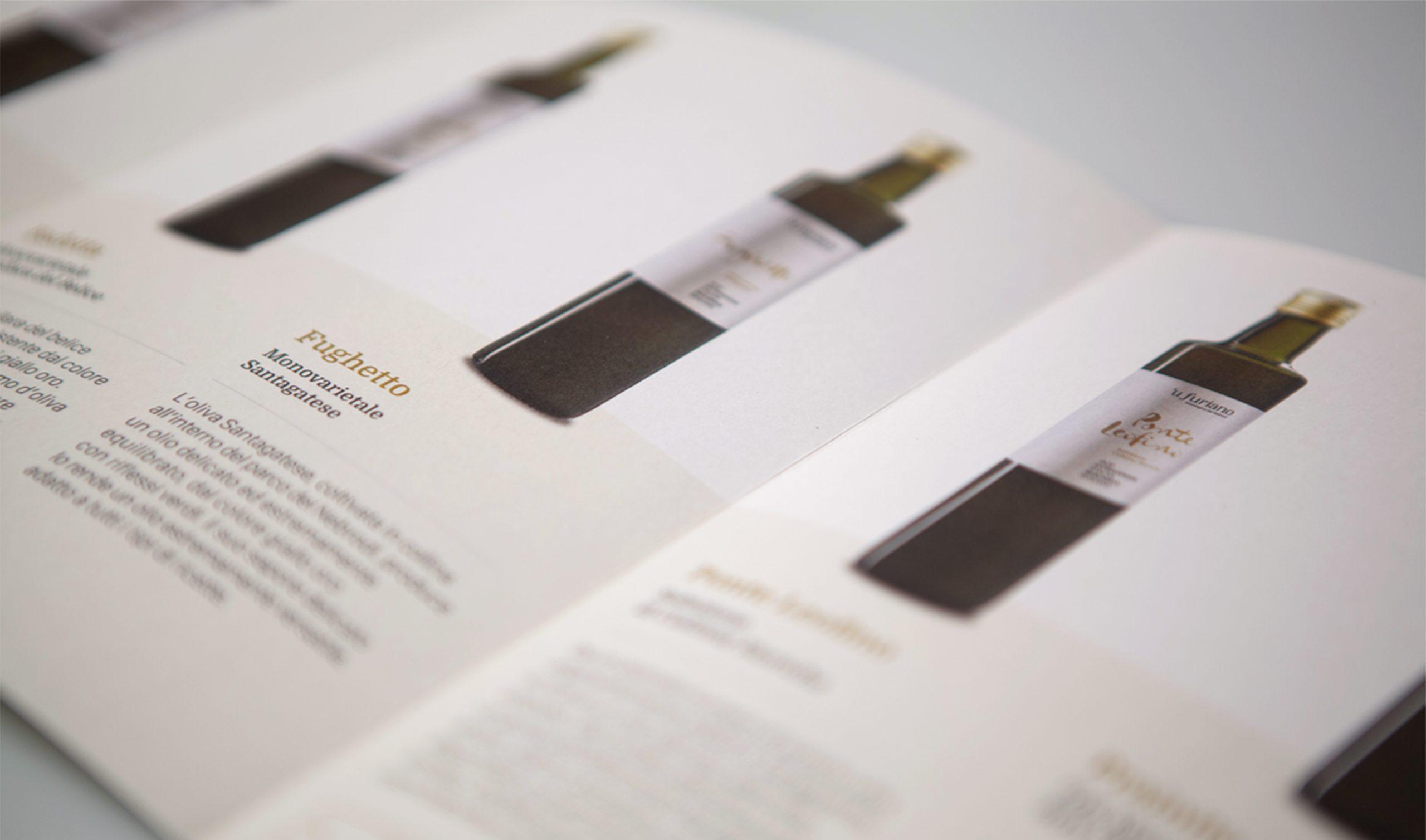 Olio 'u Furiano Packaging - Dettaglio Pieghevole